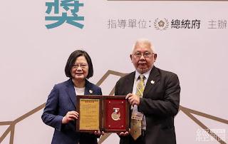 黃勝堅總院長推動長照2.0機制獲總統創新獎