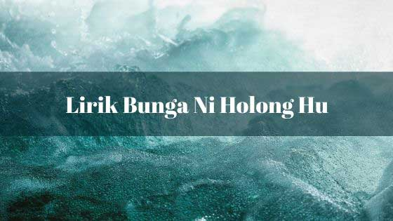 Lirik Bunga Ni Holong Hu