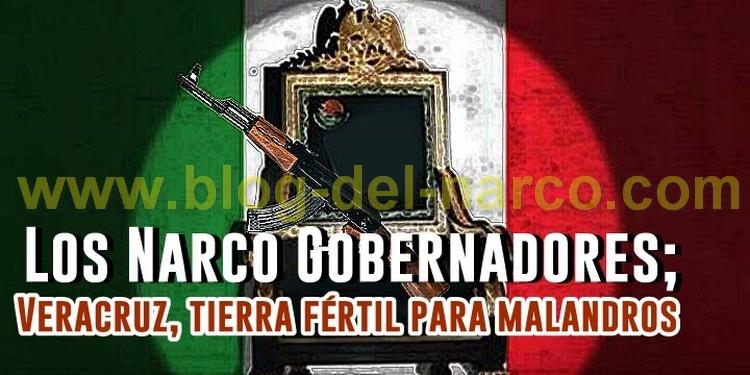 Narcotráfico en Veracruz; cuatro gobernadores indolentes