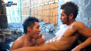 Osuinra Sexy Guys Make Love at Hot Springs