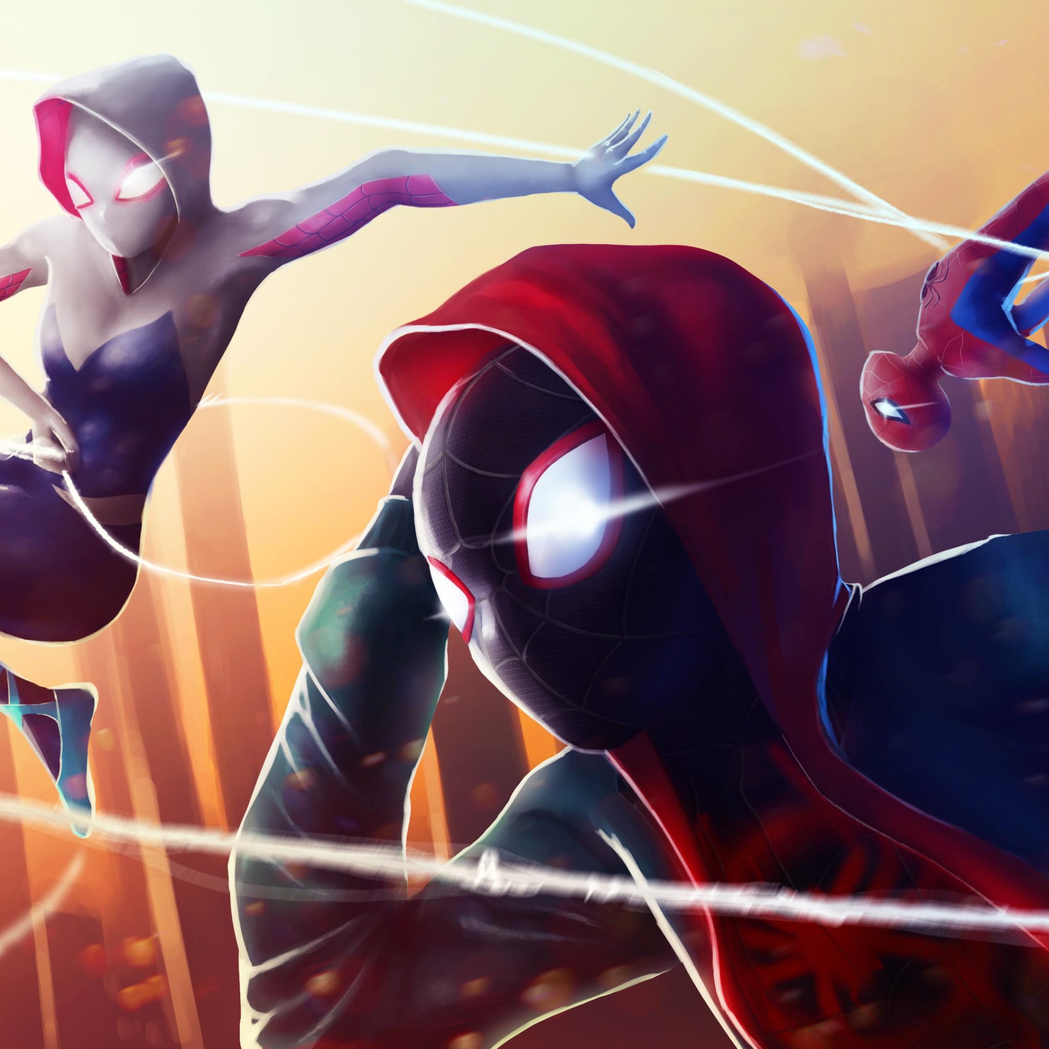 Spider Man Spider Gwen Miles Morales