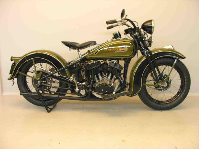 Harley Davidson Model R 1936 750cc