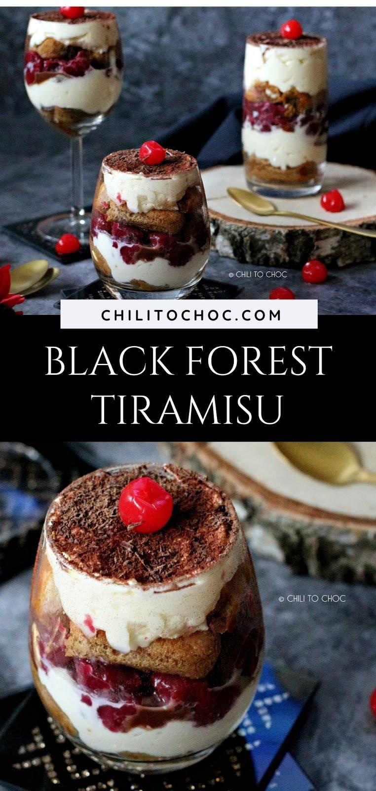 Black Forest Tiramisu