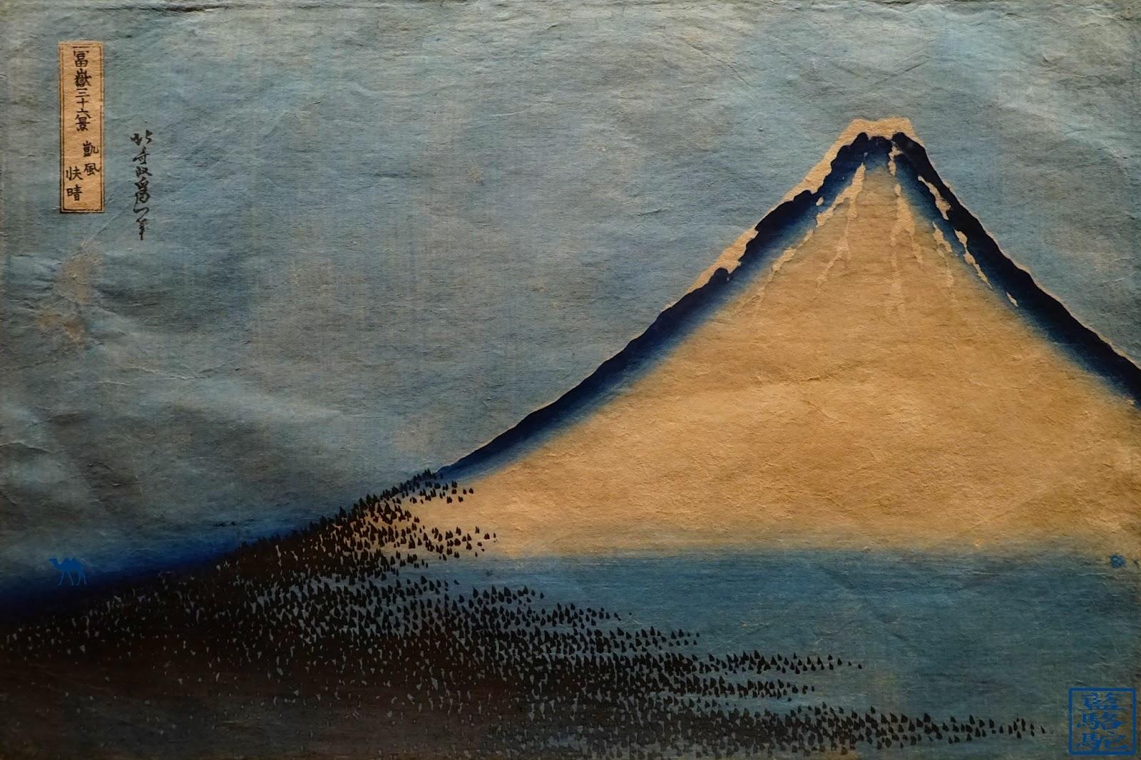 LE Chameau Bleu - Mont Fuji - Estampes - Mnaag