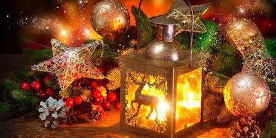 imagem de decoração natalina