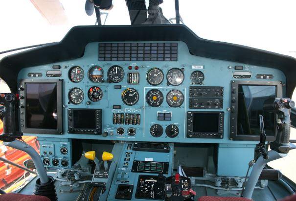Kamov Ka-32A11BC cockpit