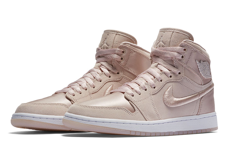 """2bb386872e6 The Air Jordan 1 continues its slow transformation into Brand Jordan s most  luxurious shoe as we get a first look at a womens-exclusive """"Summer of  High"""" ..."""