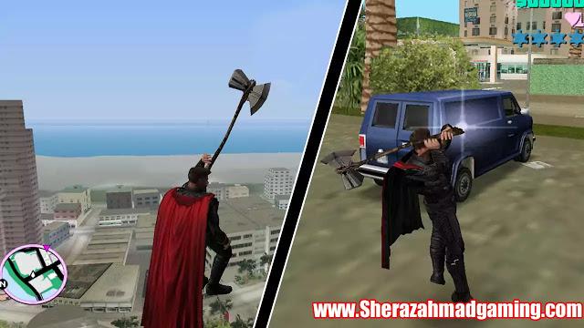 GTA Vice City Thor Infinity War Mod