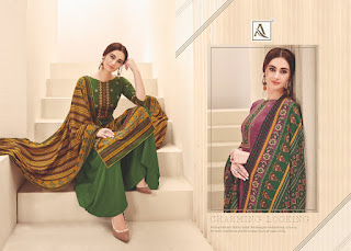 Alok Suits Manjula Pashmina Collection 2019 Latest