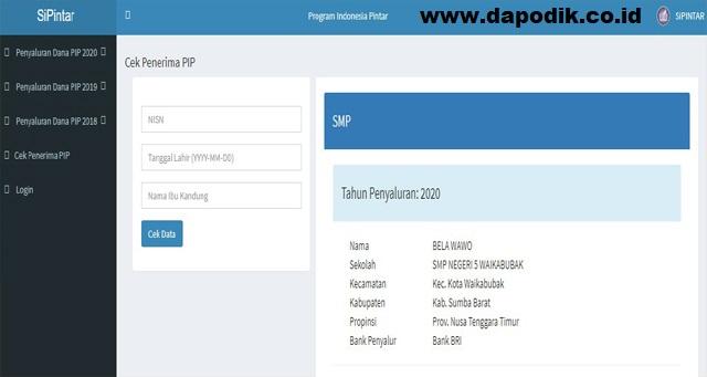 Cara Orang Tua Cek Dana Program Indonesia Pintar (PIP) Tahun Pelajaran 2020/ 2021