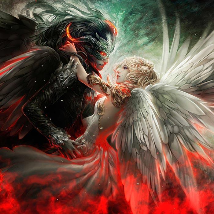 Devil And Angel Wallpaper Engine