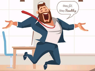 Follow these 5 ways to stay healthy during work