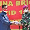 Wakil Ketua DPRD Lampung Kunjungi Dapur Umum Lapangan Brigif 4 Marinir/BS