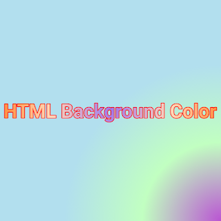 HTML Background Color