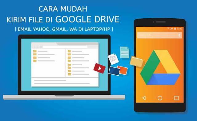 cara mengirim file di google drive lewat email dan whatsapp