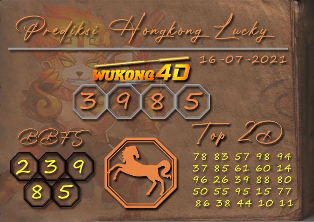 PREDIKSI TOGEL HONGKONG LUCKY7 WUKONG4D 16 JULI 2021
