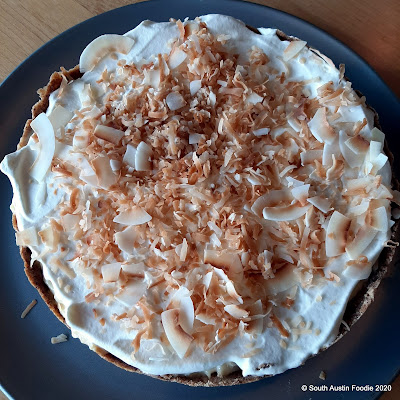 Coconut cream tarte