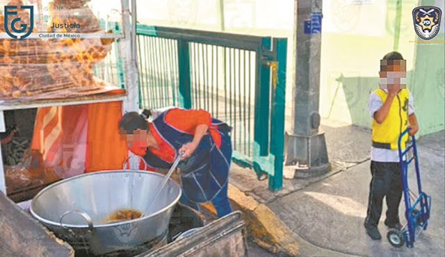 Sicarios obligaban a vender tacos de carnitas a familia humilde, no les pagaban ni un pesi y menos les daban de comer