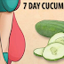 7 Day Cucumber Diet Plan: How To Lose Weight In Just 7 Days