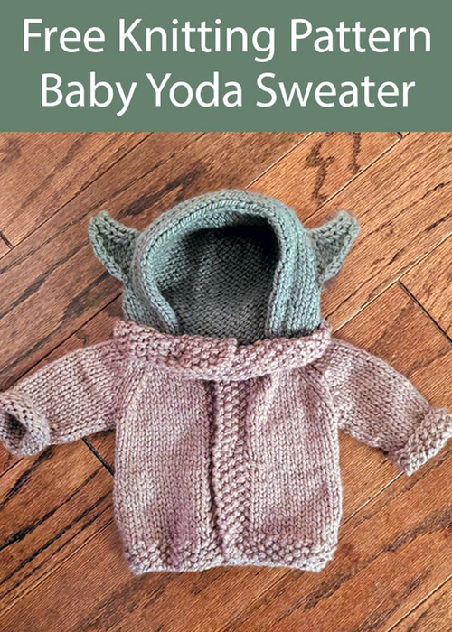 Baby Yoda for Babies - Knitting Pattern