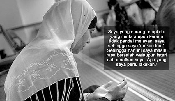 """Abang Dah Banyak Kali Terlanjur Dengan Dia"" - Lelaki Mengaku Curang, Tetapi Isteri Tetap Maafkan Suaminya"