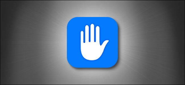 أيقونة خصوصية Apple iOS و iPadOS على خلفية رمادية