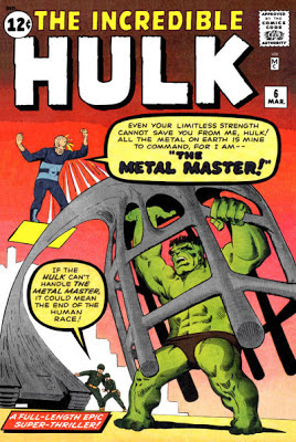 Incredible Hulk #6, the Metal Master