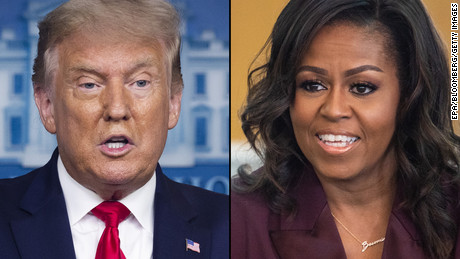"""Donald Trump and Michelle Obama win Gallup's most admired man and woman of 2020"""