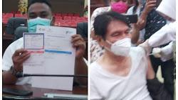 2 Legislator Sulut, Dari PDI.Perjuangan, Fanny Legoh Dan Hilman Idrus, Himbau Masyarakat Jangan Takut diVaksin