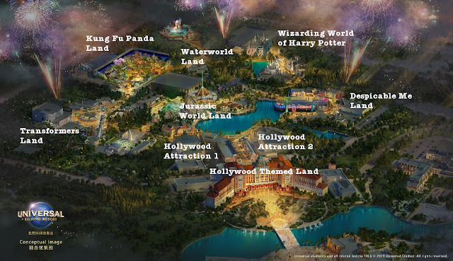 Universal Beijing Resort 2019 Concept Art Analysis