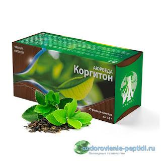 Коргитон - чай для нормализации работы сердечно-сосудистой системы
