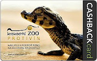 Krokodýlí ZOO Protivín Lyoness Cashback Card karta