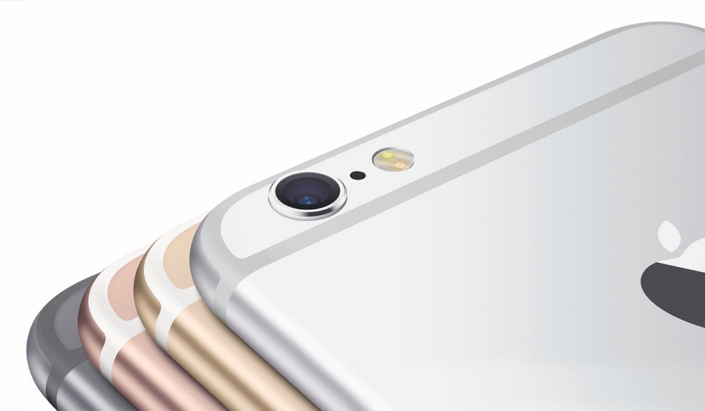 iPhone 6s na cor ouro rosé