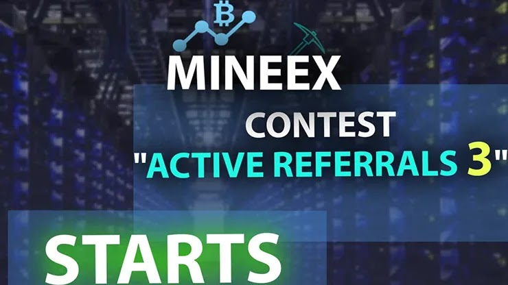 Акция от Cloud Mining Mineex