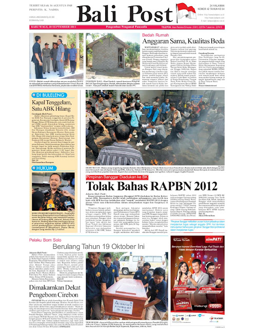 Koran Bali Post The Jakarta Post Always Bold Always Independent Koran Digital Harian Bali Post Daerah