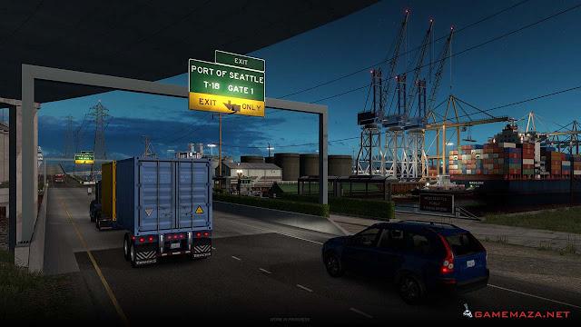 American Truck Simulator Washington Gameplay Screenshot 2