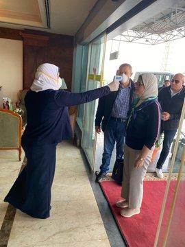 وزيرة الصحة المصرية تخضع للرقابة الطبية لمدة 14 يوما  بعد عودتها من الصين