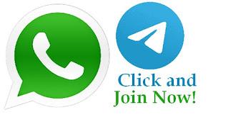Join Whatsapp and Telegram Group