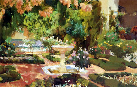 A Fool On A Hill Painting The Modern Garden Monet To