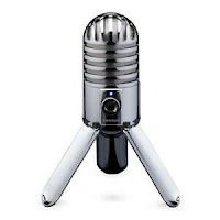 Samson Meteor Mic Large Diaphragm USB Condenser Microphone for Desktop Recording