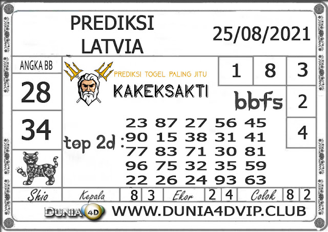 Prediksi Togel LATVIA DUNIA4D 25 AGUSTUS 2021