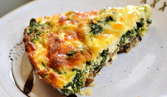 Keto Spinach Pie #lowcarb #healthy