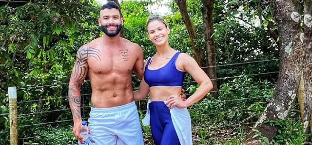 Gusttavo Lima e Andressa Suita mandam indireta para Wesley Safadão e fãs vão à loucura
