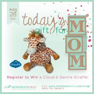 Cloud B Gentle Giraffe Giveaway