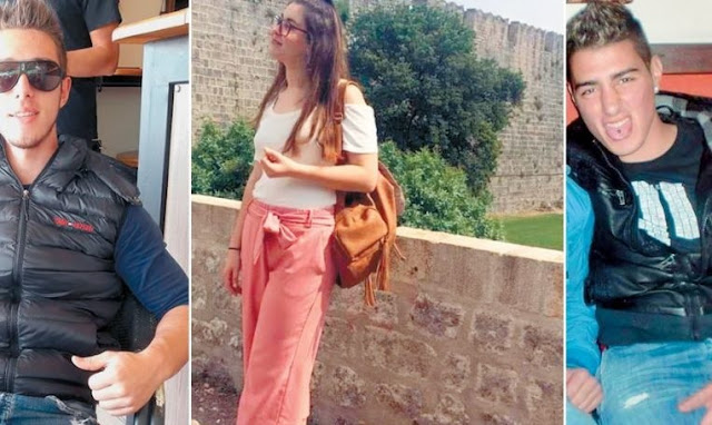 The murder of Greek student Helena Topaloudi in Rhodes; her mother says has been created by the Albanian