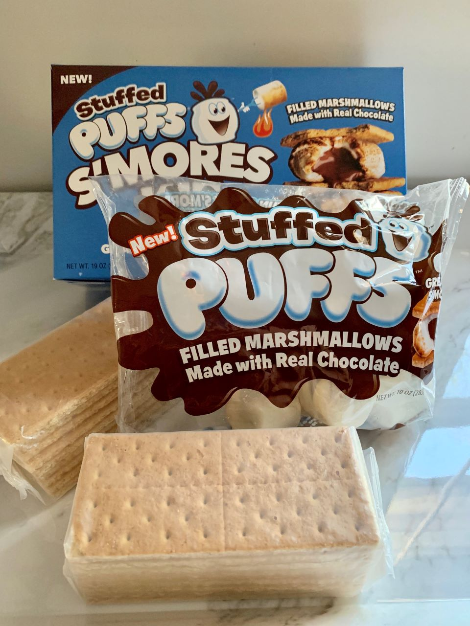 What's in the Stuffed Puffs S'mores Kit? #ad