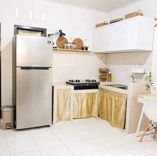 Desain interior rumah type 36 ruang makan