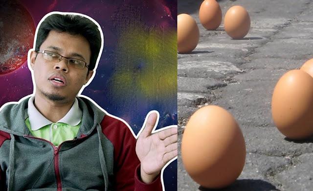 Fenomena Telur Ayam Berdiri Ketika Gerhana. Tapi Betul Ke Sebab Gerhana?