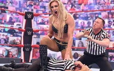 Charlotte Flair WWE Referee Suspension Raw