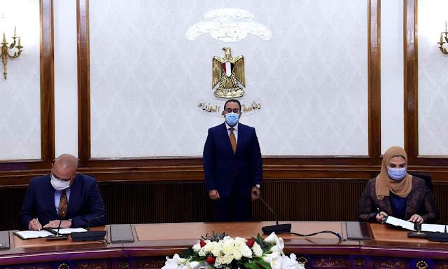 رئيس الوزراء يشهد مراسم توقيع 3 بروتوكولات تعاون   لإنشاء وتأثيث حضانات للأطفال بالمدارس ومراكز الشباب على مستوى الجمهورية